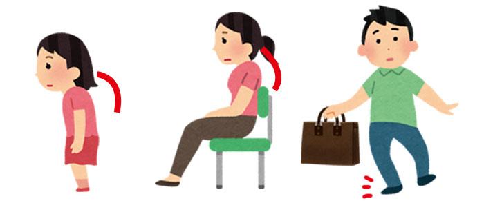 生活習慣による股関節痛